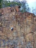 Scalatori della montagna Fotografie Stock