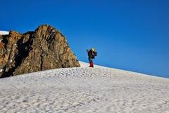 Scalatori di montagna Immagini Stock