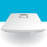 Scale 3D. A 3D image of a weight scale Stock Images