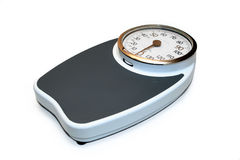 Scale. Professional weight scale capable of up to 180 kilograms Stock Images