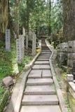 Scale ad un vecchio altare Immagine Stock