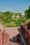 Scale al giardino Immagine Stock