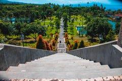 Scale al palazzo dell'acqua in Bali Immagini Stock