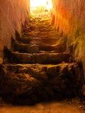Scale alla cima Fotografia Stock