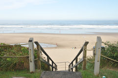 Scale alla spiaggia Immagine Stock Libera da Diritti