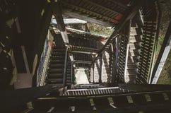 Scale alla torre di osservazione Fotografia Stock Libera da Diritti