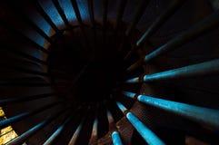 Scale blu allo sconosciuto Immagine Stock Libera da Diritti