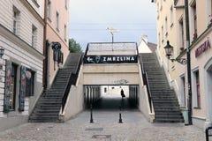 Scale in città Fotografia Stock Libera da Diritti