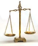 Scale con le candele Immagini Stock Libere da Diritti