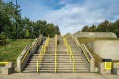 Scale concrete Immagini Stock