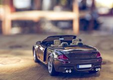 Scale convertible automotive stock photography