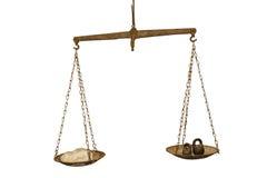 Scale d'annata Immagine Stock Libera da Diritti