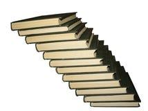 Scale dai libri Fotografia Stock