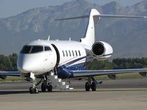 Scale del jet di affari Fotografie Stock