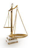 Scale dell'annata di giustizia Immagini Stock