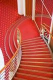 Scale dell'interiore della nave da crociera Fotografia Stock Libera da Diritti