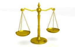 Scale dell'oro Immagine Stock Libera da Diritti