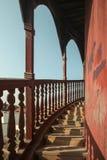 Scale della torre fotografie stock