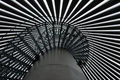 Scale della torre dell'allerta Immagine Stock