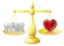 Scale di carriera o di relazione Fotografia Stock Libera da Diritti