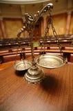 Scale di giustizia Fotografia Stock Libera da Diritti