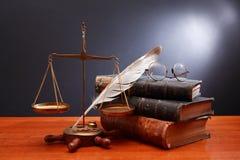 Scale di giustizia Fotografie Stock