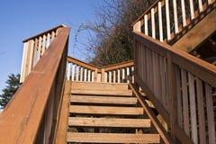Scale di legno Immagini Stock Libere da Diritti