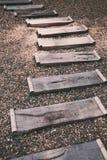 Scale di legno Fotografia Stock