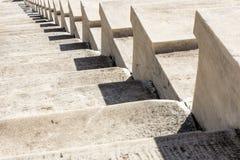Scale di marmo dello stadio panatenaico Immagini Stock Libere da Diritti