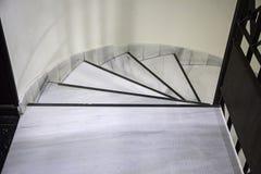 Scale di marmo interne Immagine Stock