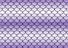 Scale di pesci lilla. Fotografie Stock