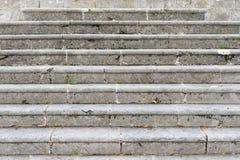 Scale di pietra, dettaglio di una scala antica Immagine Stock Libera da Diritti