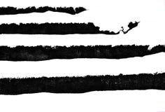 Scale di Snowy in bianco e nero fotografia stock