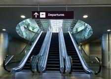 Scale di viaggio dell'aeroporto Immagine Stock