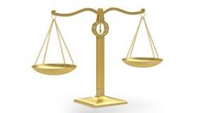 Scale dorate Immagini Stock Libere da Diritti