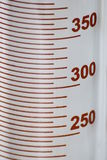 Scale graduated cylinder Royalty Free Stock Images