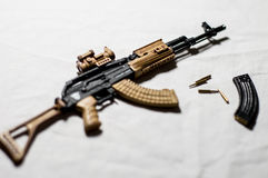 1/6 scale gun Royalty Free Stock Photography
