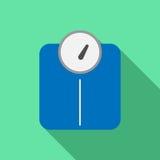 Scale  icon.  Stock Image