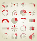 Scale icons Royalty Free Stock Photo