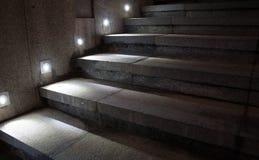 Scale illuminate fotografia stock