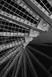 Scale industriali astratte Fotografia Stock