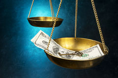 Scale of Justice Royalty Free Stock Photos