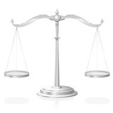 Scale Justice Symbol Royalty Free Stock Image