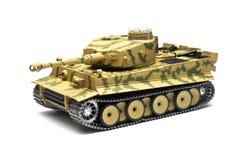 Scale model German tank Stock Photography