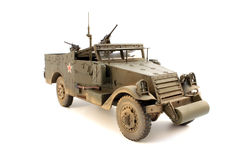 Scale model M3 Scout Car Royalty Free Stock Photos