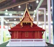 Scale model of multipurpose hall, Sala Kanprian Stock Image