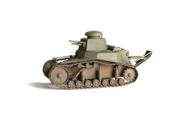 Scale model of old vehicle Royalty Free Stock Images