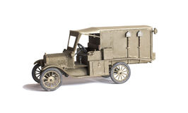 Scale model of old vehicle Royalty Free Stock Photography