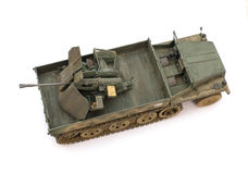 Scale model of old vehicle Stock Images