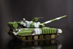 Scale model tank Stock Photo